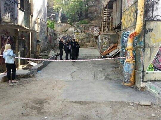 В Одессе нашли труп