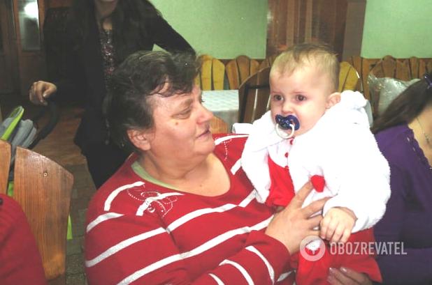 Наталья Зинкевич с внуком