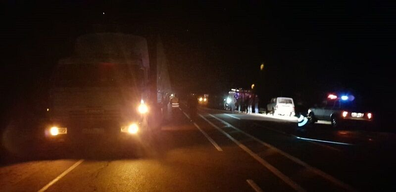 В России разбился автобус с украинцами