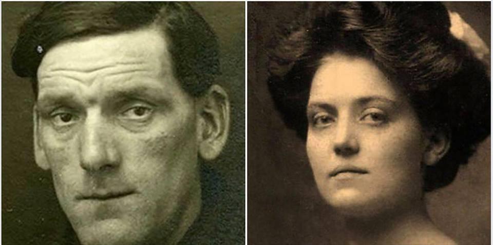 "Артур Джон Прист и Вайолетт Констанс Джессоп, члены экипажа ""Титаника"""