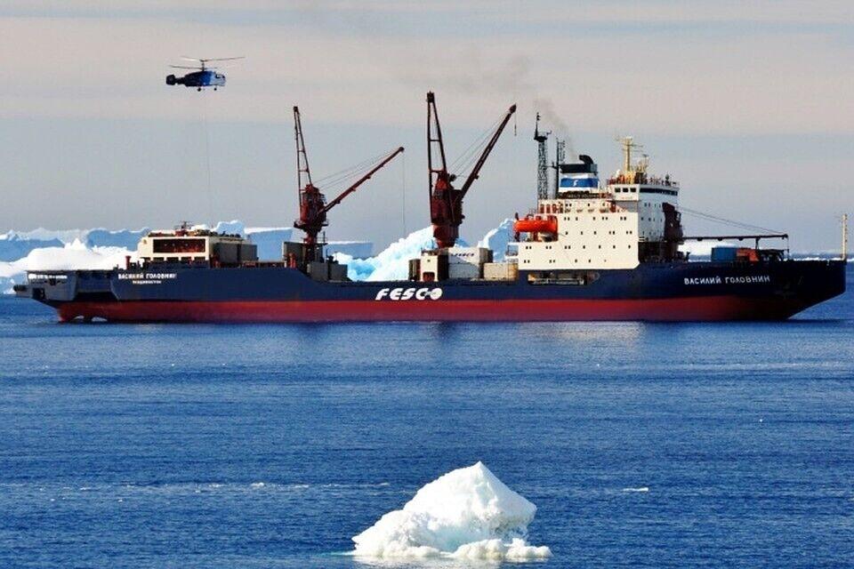 Российские моряки погибли, возвращаясь из Антарктиды
