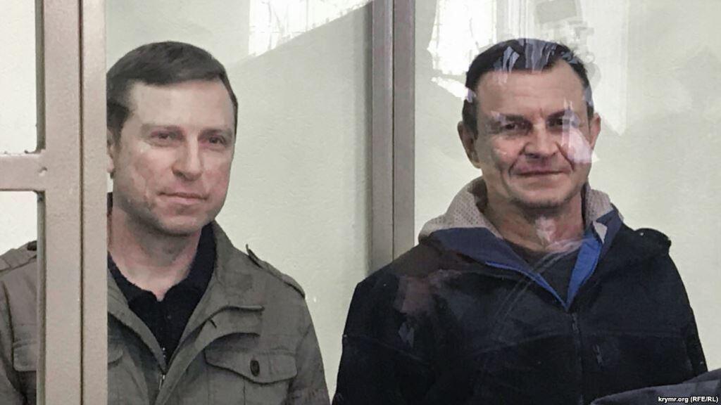 Владимир Дудка и Алексей Бессарабов