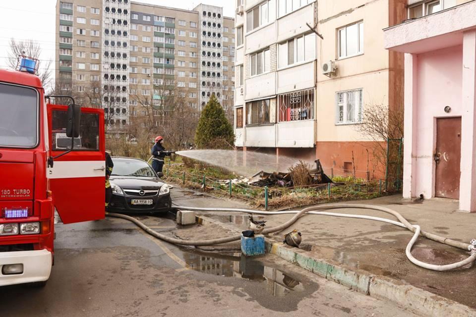Пожар на Автозводской
