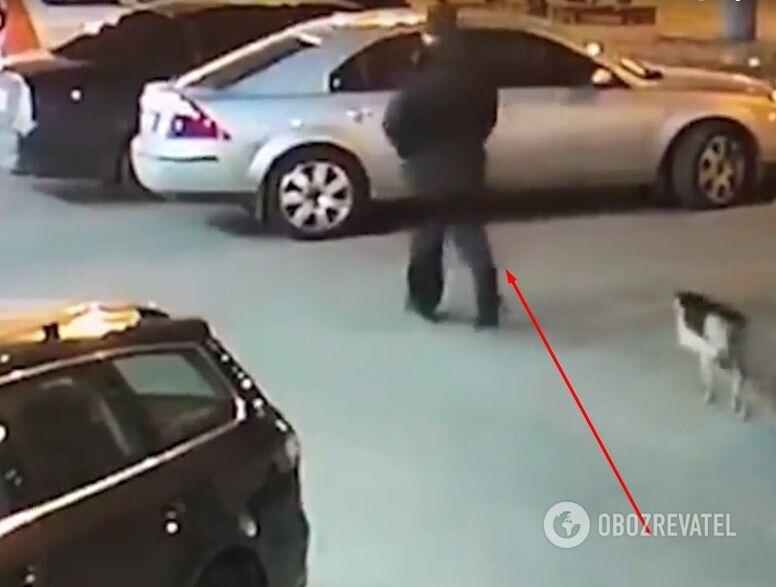Ошибка диверсанта: на видео попал взрыв авто разведчика в Киеве