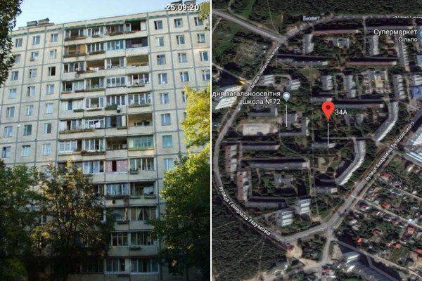 В Киеве женщина выпала с 11 этажа: что известно