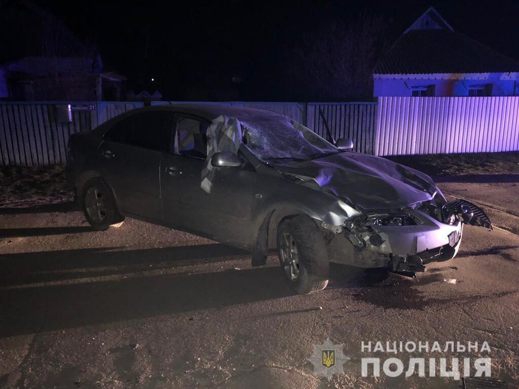 Под Киевом водитель-подросток задавил двух девушек и сбежал