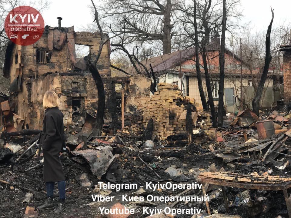 Пожар на ул. Гомелськая