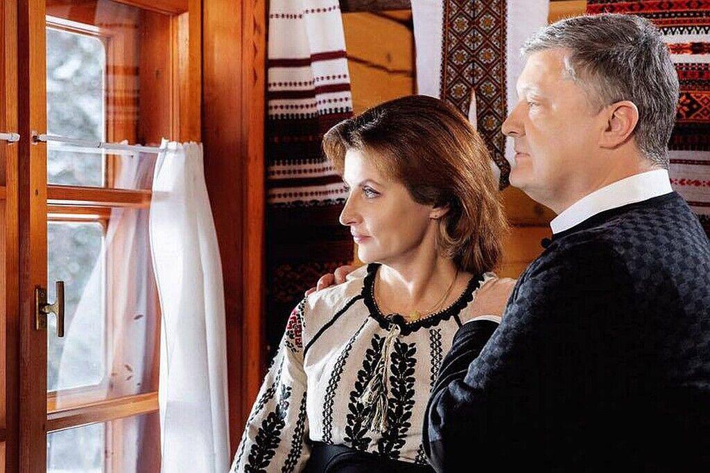 Марина и Петр Порошенко