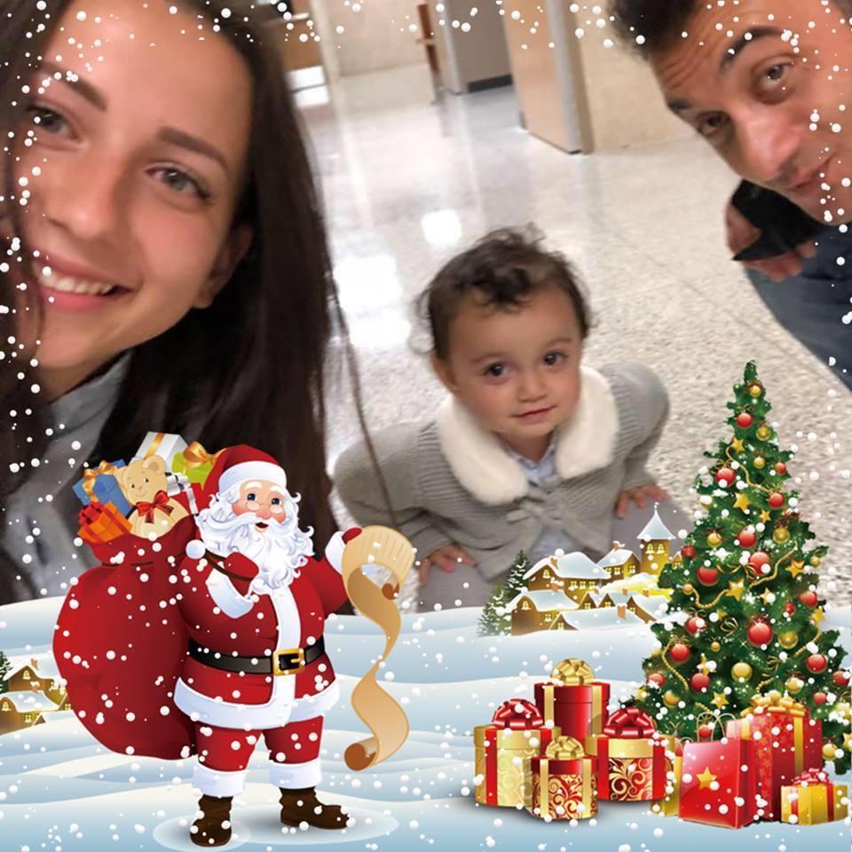 На фото Тетяна і Фуад виглядають щасливою сім'єю