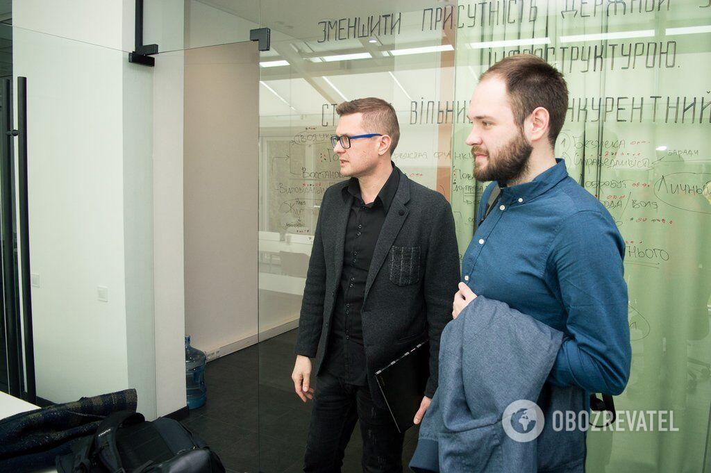Интервью с главой штаба Зеленского о дебатах, Порошенко и Донбассе