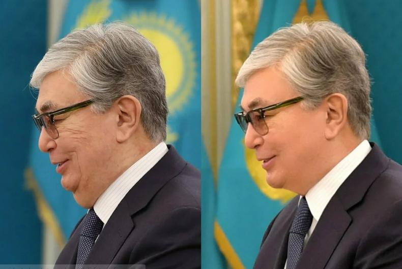 Президент Казахстана попался на неумелом фотошопе