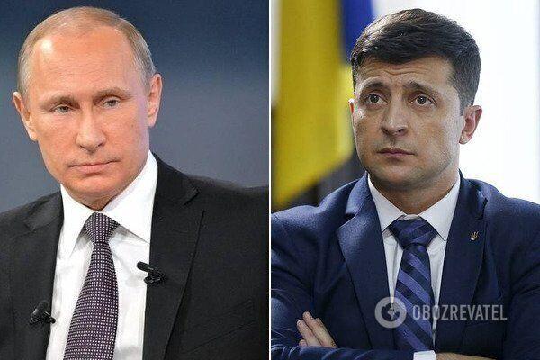 Владимир Путин и Владимир Зеленский еще не встречались