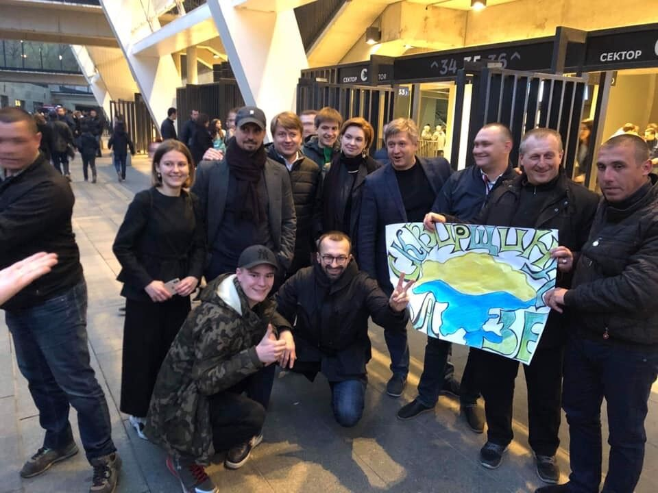 Лещенко и команда Зеленского