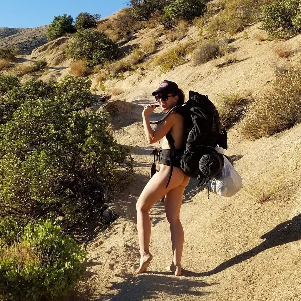 This dutch gal spends her time traveling and getting naked