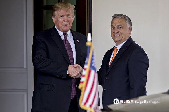 Трамп начал переговоры со скандальным Орбаном