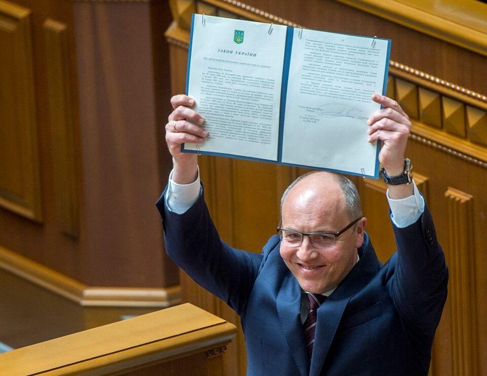 Подписание закона о языке