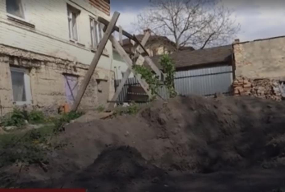 Возле этого дома закопали труп Павла