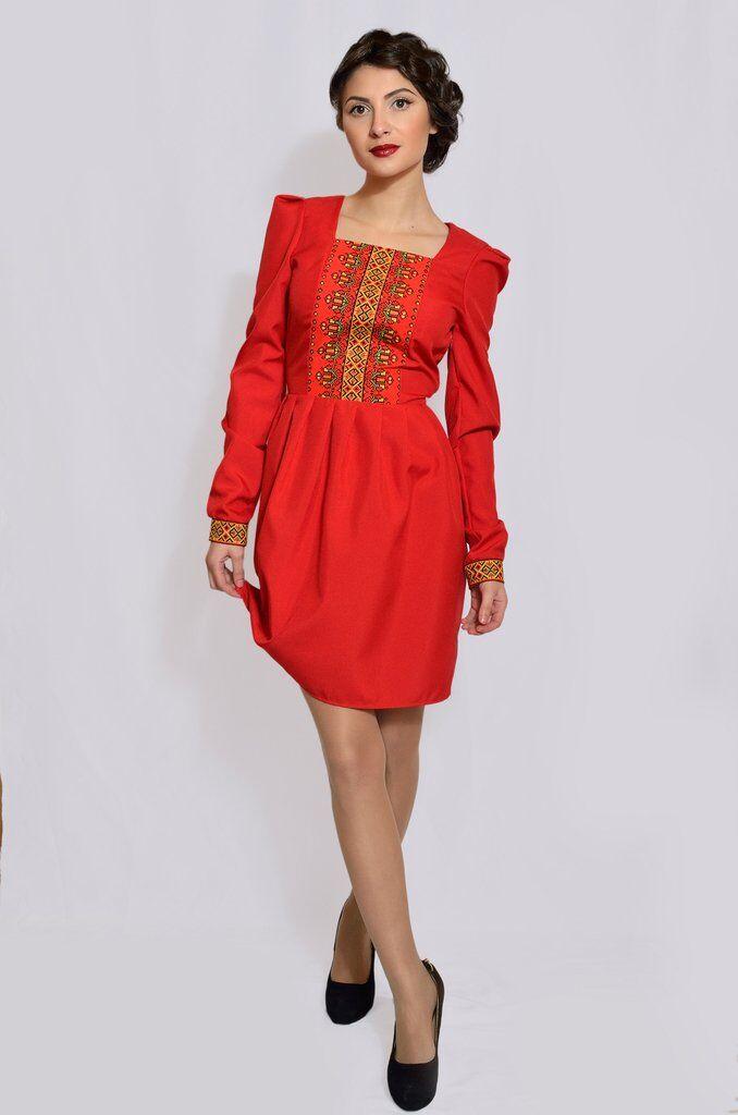 Плаття-вишиванка. Варіант 2