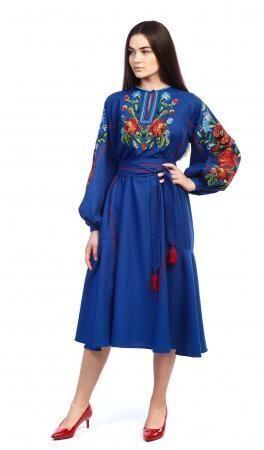 Плаття-вишиванка. Варіант 3
