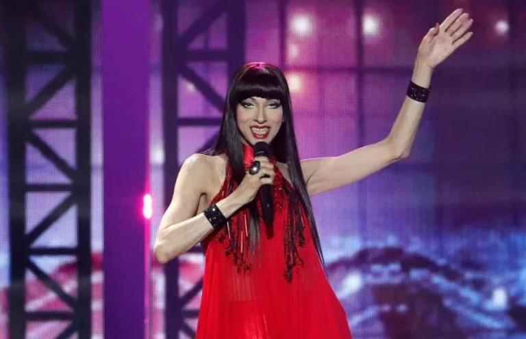 Дана Інтернешнл в 2019 році (кадр з виступу на Євробаченні)