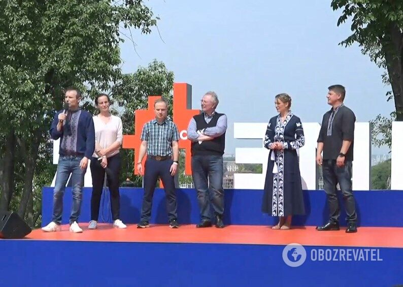 Святослав Вакарчук 16 травня представив свою команду на вибори в Раду