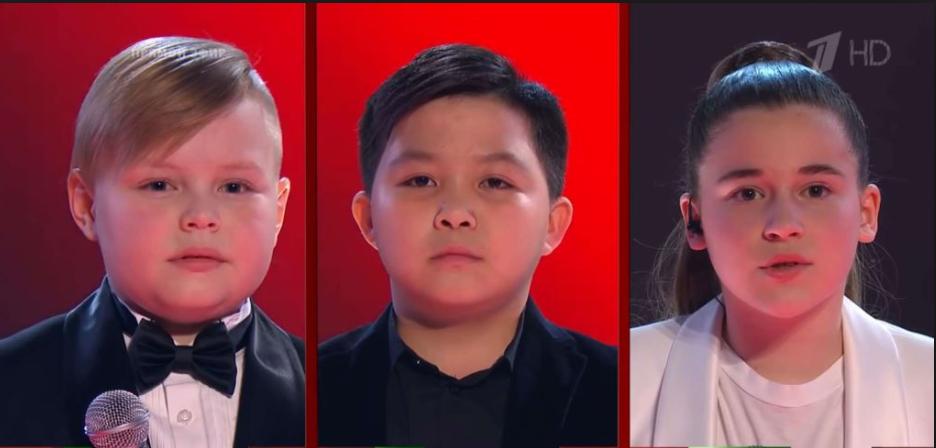 """Трійка претендентів на перемогу в """"Голос. Діти"""""""