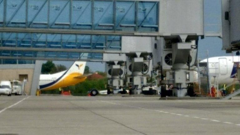 Во Львове произошло ЧП с самолетом