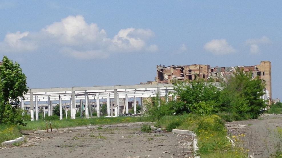 Будівля колишнього ТЦ Metro