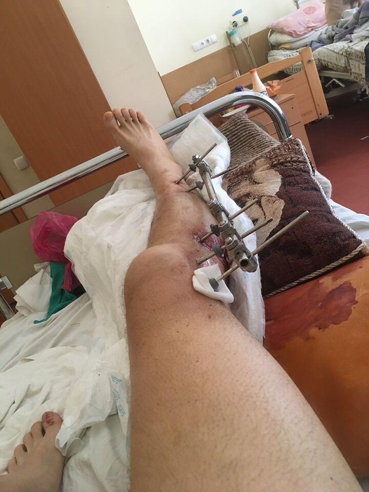 Евгений также в больнице
