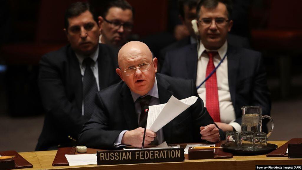 Постпред РФ в ООН Васілій Нєбєзня вважає український Закон Про Мову загрозою для безпеки своєї держави