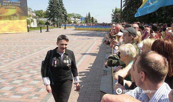 Савченко з орденами
