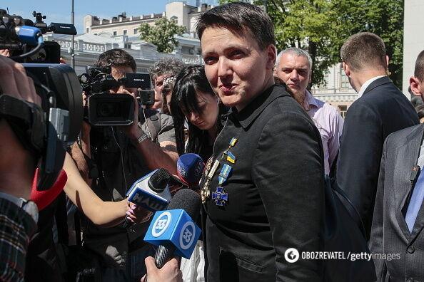 Нардеп Савченко прийшла у всій красі