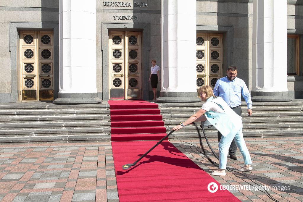 Інавгурація Зеленського: найяскравіші фото церемонії