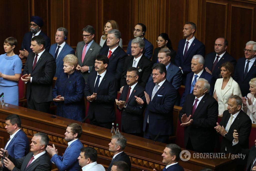 Елена Зеленская в Верховной Раде