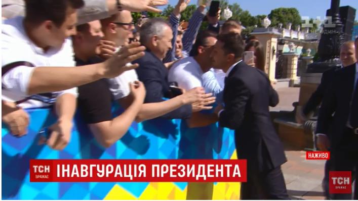 Владимир Зеленский идет в Раду