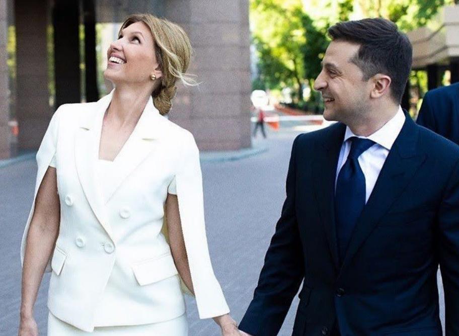 Новый президент и первая леди Украины