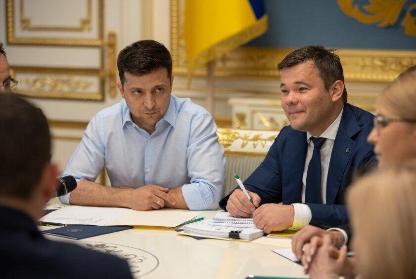 Зеленский провел переговоры с представителями политсил