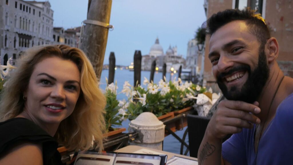 Кише с женой