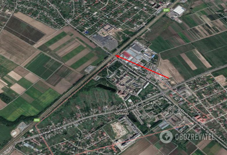 """Боротьба з ДТП: на """"проклятому місці"""" під Києвом готують заходи безпеки"""