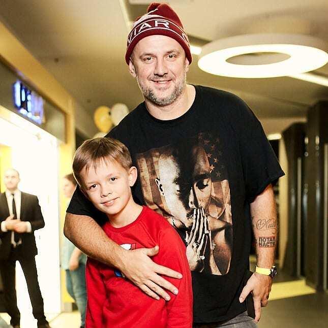 Алексей Потапенко с сыном