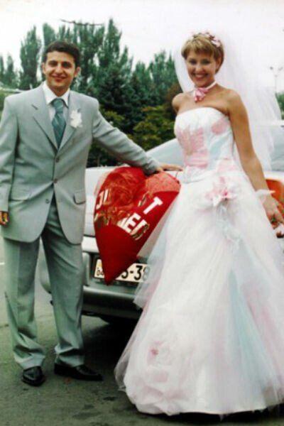 Весілля відбулося 6 вересня 2003 року
