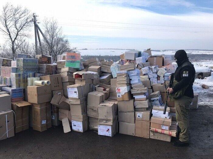 Контрафактные сигареты на Донбассе