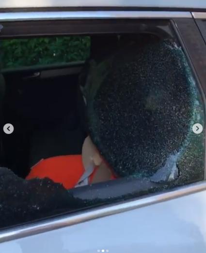 Злодії винесли з машини Дяді Жори сумку