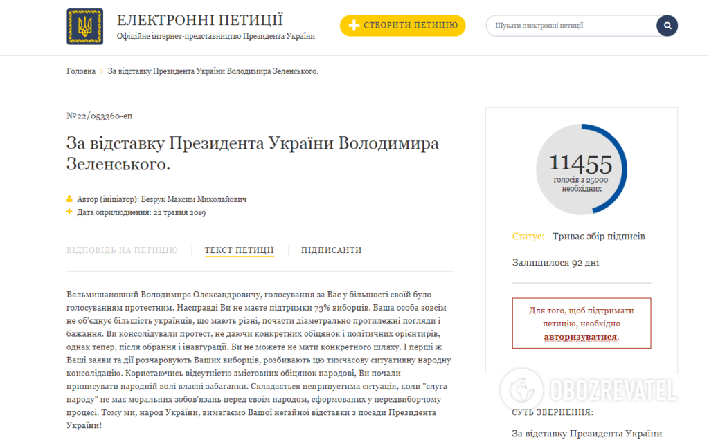 """""""Розчарував виборців"""": українці виступили за негайну відставку Зеленського"""
