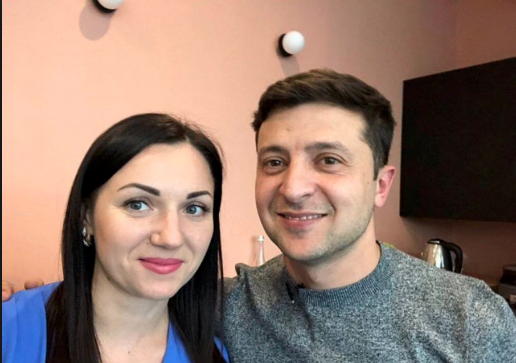 Светлана Лутковская и Владимир Зеленский