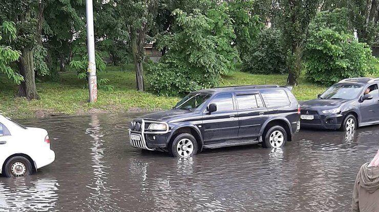 Потоп у Києві