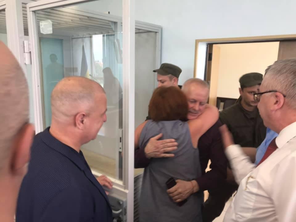 Володимир Замана в залі суду