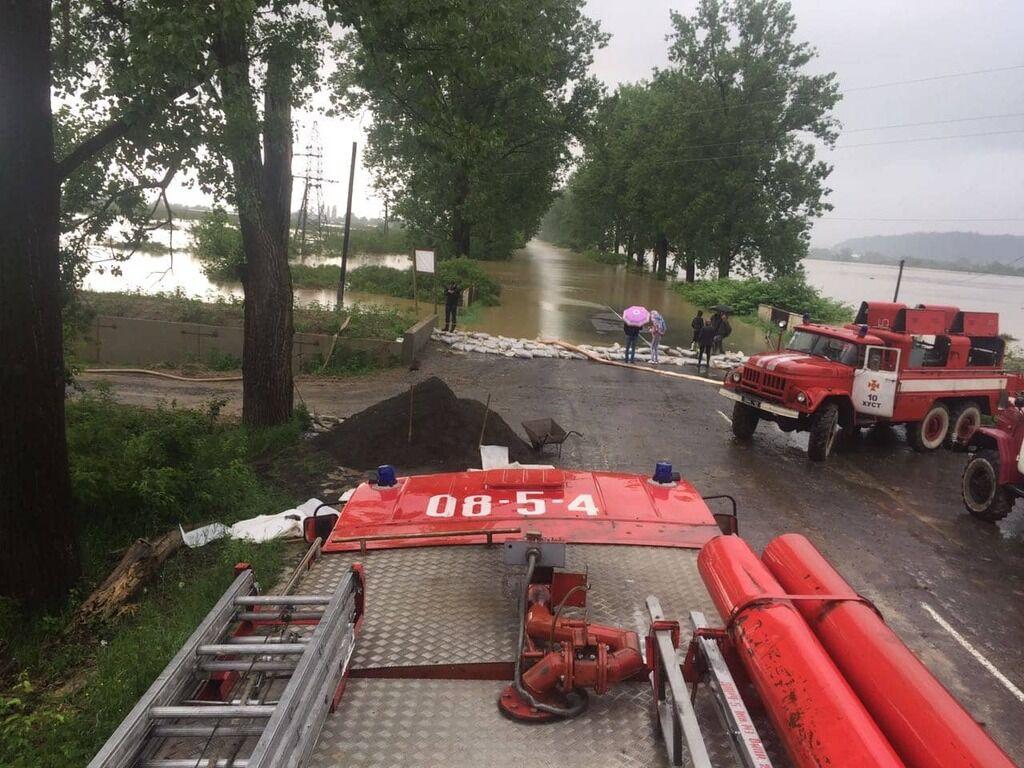 Потоп на Закарпатье