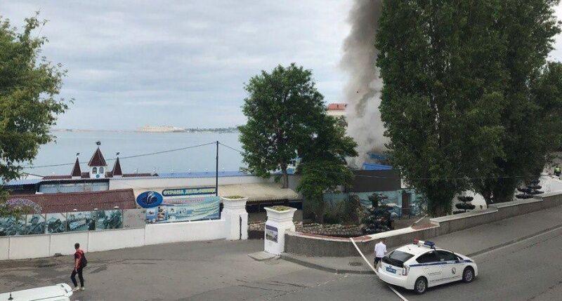Пожежа в Севастополі