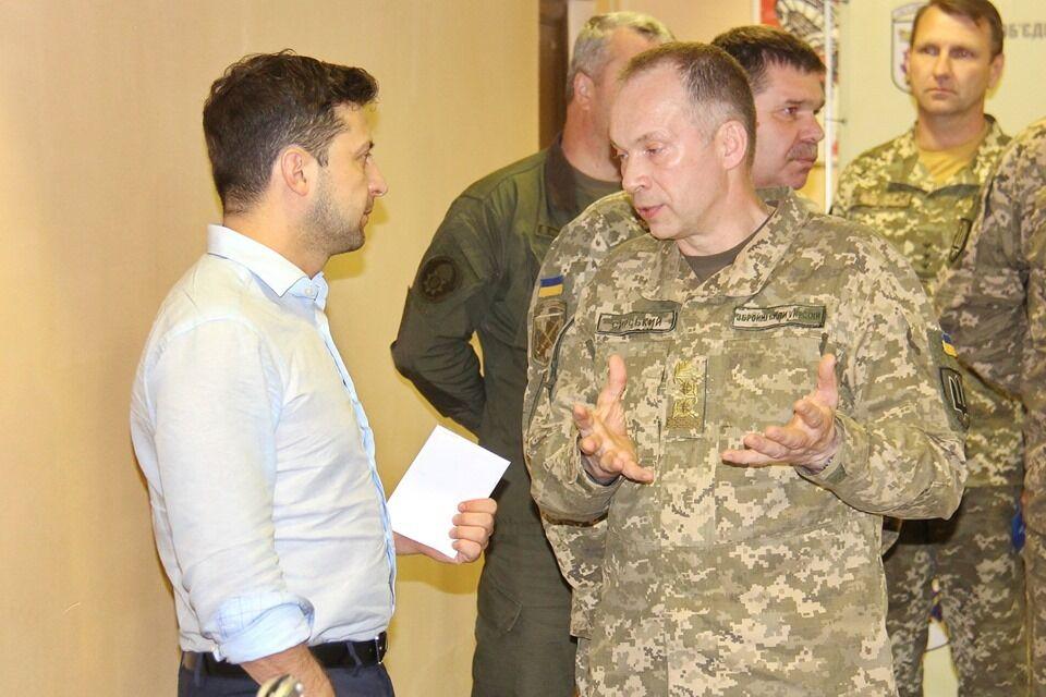 Первый визит Зеленского на Донбасс в роли президента